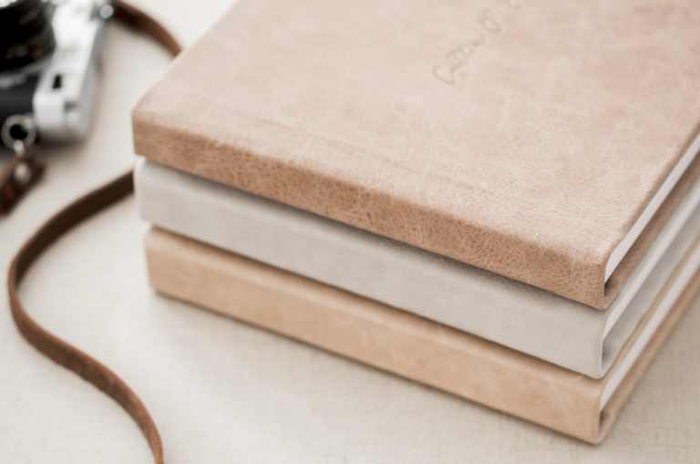 leather wedding albums family heirlooms