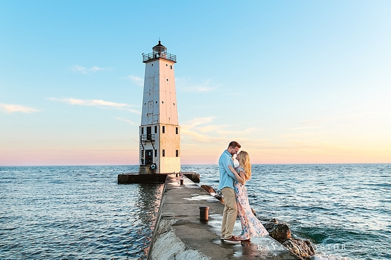Frankfort Michigan Engagement Traverse City And Northern