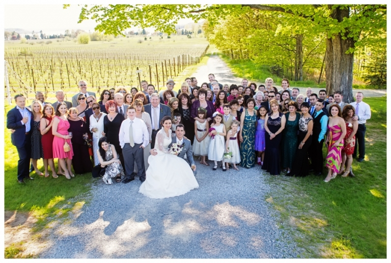 Old Mission Peninsula Vineyard Wedding