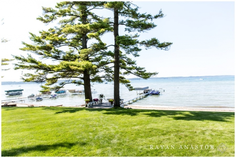 Private Residence For Wedding On Torch Lake